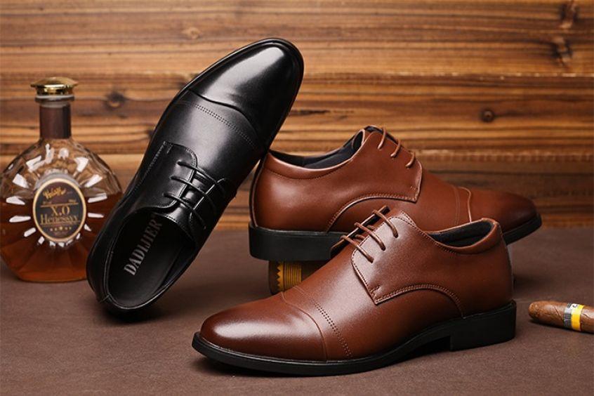 Mua giày tây nam ở đâu đẹp tphcm- nơi mua giày phái mạnh mong đợi