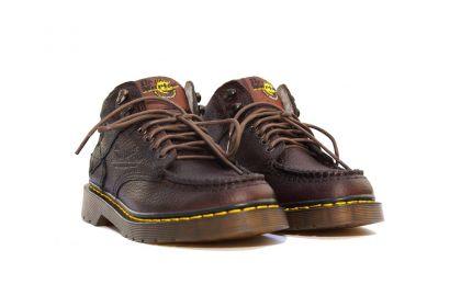 Giày da dr martens nam cổ lửng gồ 5989 thái lan màu nâu