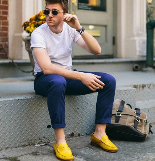 Phối đồ với đôi giày đẹp như vậy không khó