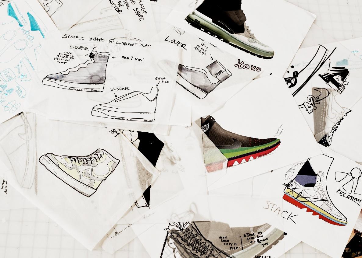 Thiết kế giày da bò cao cấp
